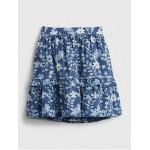 Toddler Floral Midi Skirt