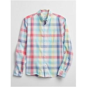 Poplin Shirt in Untucked Fit