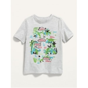 Dinosaurs Graphic Tee for Toddlers