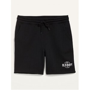 Logo-Graphic Gender-Neutral Jogger Shorts for Adults --7.5-inch inseam