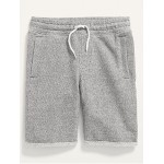 Cozy French Terry Cut-Off Shorts for Boys