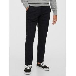Slim Taper Pants with Gap Flex
