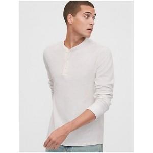 Jacquard Henley T-Shirt