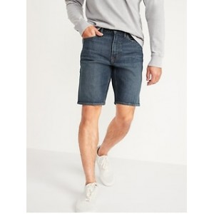 Slim Built-In Flex Jean Shorts for Men -- 9.5-inch inseam