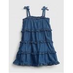 Toddler Denim Tiered Dress