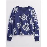 Kids Print Pullover Sweatshirt