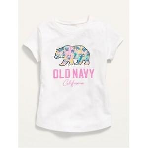 Short-Sleeve Logo-Graphic Tee for Toddler Girls