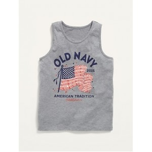 2021 Flag-Graphic Tank Top for Boys