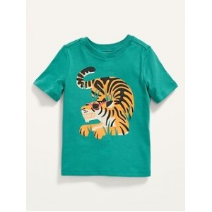 Short-Sleeve Graphic Tee for Toddler Boys