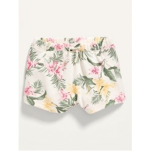 Unisex Printed Pull-On Shorts for Baby