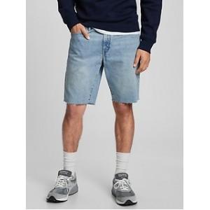 9 Mid Rise Denim Shorts
