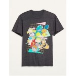 Nickelodeon Cartoon Gender-Neutral Graphic Tee for Adults