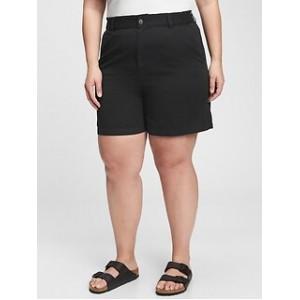 5 High Rise Paperbag Shorts