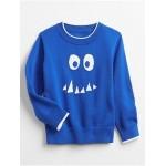 Toddler Intarsia Graphic Sweater