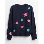 Kids Print Pullover Sweater