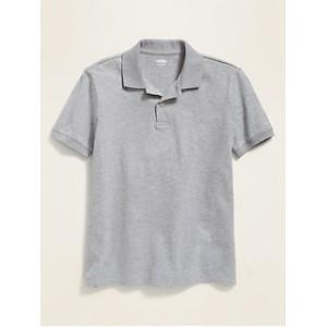 Uniform Stain-Resistant Built-In Flex Pique Polo for Boys Hot Deal