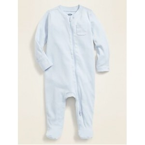 Unisex Footed One-Piece for Baby