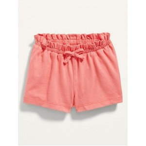 Solid Jersey-Knit Pull-On Shorts for Baby