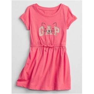 Toddler Gap Logo Cat Knit Dress