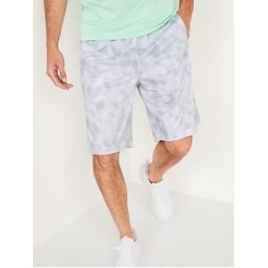 Go-Dry Mesh Basketball Shorts for Men -- 10-inch inseam
