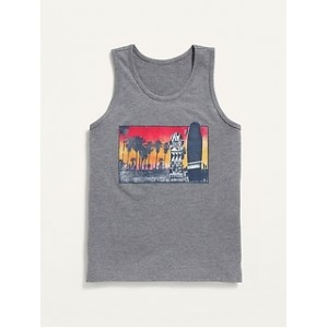 Softest Graphic Tank Top for Boys