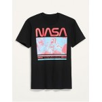 NASA Gender-Neutral Graphic Tee for Adults