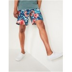 Printed Built-In Flex Board Shorts for Men -- 10-inch inseam