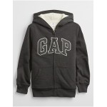 Kids Gap Logo Sherpa-Lined Hoodie