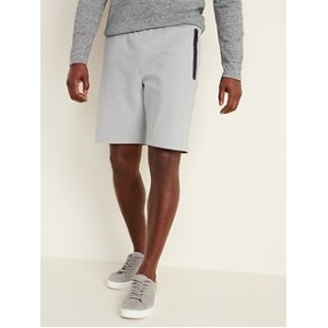 Dynamic Fleece Jogger Shorts for Men --9-inch inseam