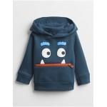Toddler 3D Monster Hoodie Sweatshirt