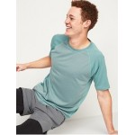 Go-Dry Cool Textured-Knit Performance Tee for Men
