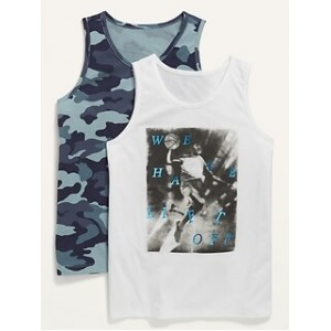 Relaxed Tank-Top 2-Pack for Boys