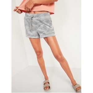 Mid-Rise Vintage Sweat Shorts for Women -- 3-inch inseam