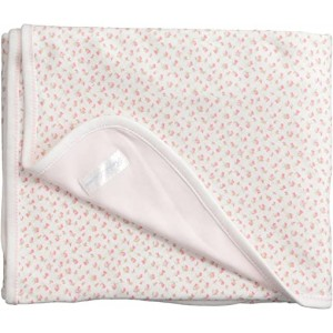 Floral-Print Cotton Blanket
